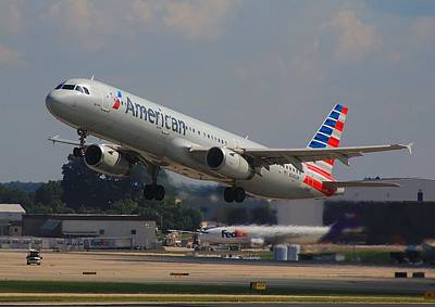 Photograph - American Airlines N545uw by Joseph C Hinson Photography