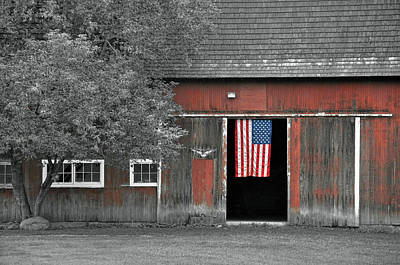Photograph - American Patriotism by JAMART Photography
