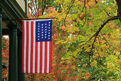 Photograph - American Flag by Jill Lang