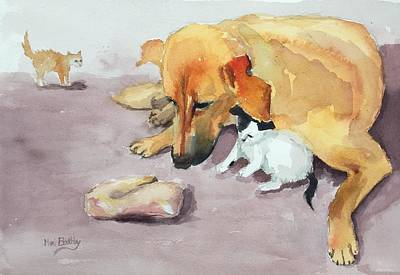 Painting - Amira And Junior by Mimi Boothby