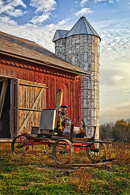 Barn Photograph - Amish Country by Marcia Colelli