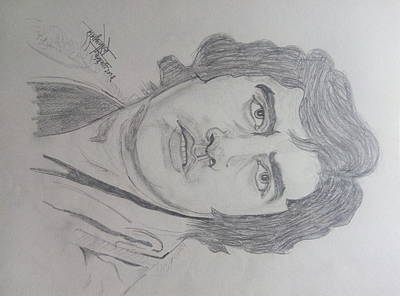 Amitabh Drawing - Amitabh Bacchan International  Actor  by Shashank Morje