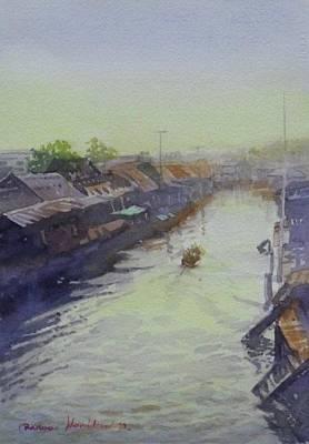 Painting - Ampawa by Wanvisa Klawklean