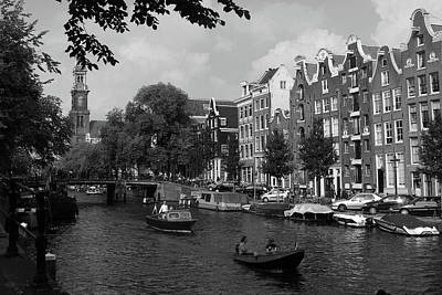 Photograph - Towns Of The Netherlands, Amsterdam by Aidan Moran