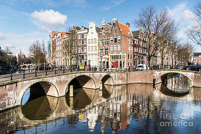 Photograph - Amsterdam Canals by Didier Marti