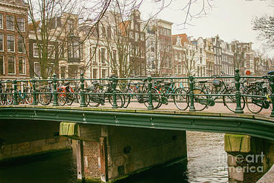 Photograph - Amsterdam by Patricia Hofmeester