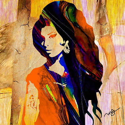 Rhythm And Blues Mixed Media - Amy Winehouse by Marvin Blaine