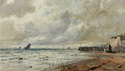Gustave Painting - An April Day Norfolk Coast by MotionAge Designs