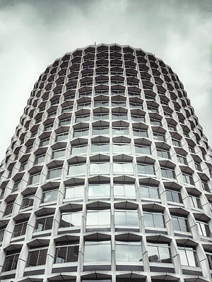 60s Photograph - An Office Building by Tom Gowanlock