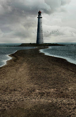 Photograph - An Old Lighthouse by Jaroslaw Blaminsky