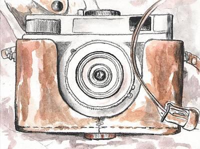 Analog Painting - Analog Camera by Jovana Babic
