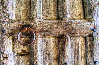 Photograph - Ancient Church Door by David Pyatt