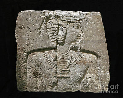 Photograph - Ancient Egyptian Wall Carving by Kevin McCarthy