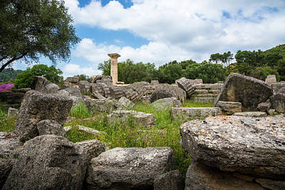 Photograph - Ancient Olympia / Greece by Stavros Argyropoulos