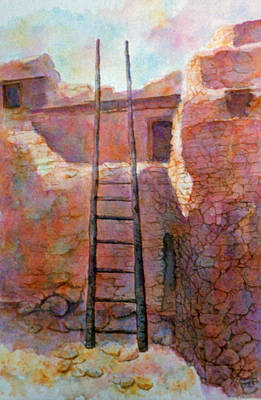 Painting - Ancient Walls by Ann Peck