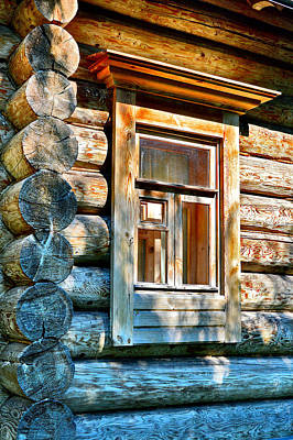 Ancient Wooden Window Original