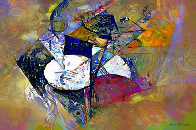 Digital Art - And All That Jazz by Pennie McCracken