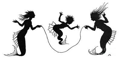 Andersen: Little Mermaid Art Print by Granger