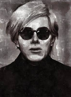 Andy Warhol, Arist Art Print by Mary Bassett