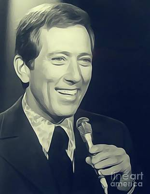 Rock And Roll Royalty-Free and Rights-Managed Images - Andy Williams, Singer by John Springfield