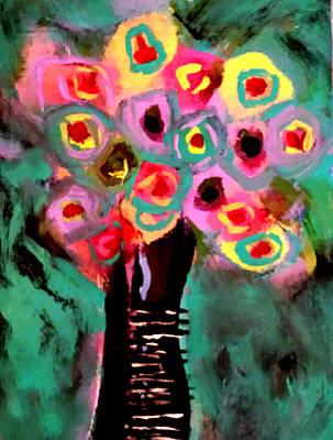 Painting - Anemones by Nikki Dalton