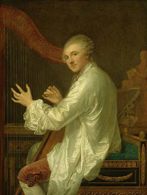 Painting - Ange Laurent De La Live De Jully by Jean-Baptiste Greuze