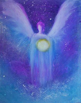 Painting - Angel Light by Alma Yamazaki