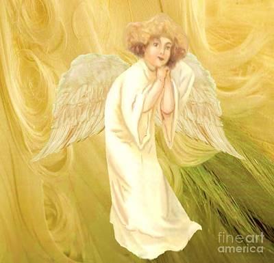 Painting - Angel Of Grace by Belinda Threeths