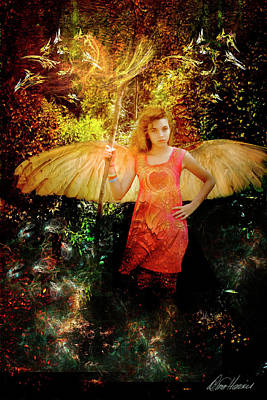 Photograph - Angel Of Inspiration by Diana Haronis