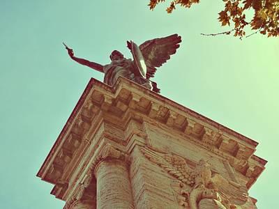 Photograph - Angel On The Bridge by JAMART Photography