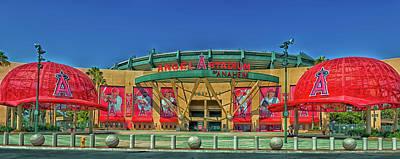 Angel Stadium Art Print