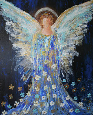 Painting - Angels Among Us by Alma Yamazaki
