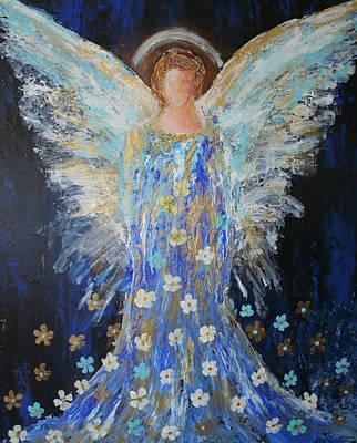 Painting - Angels Among Us by Alma Yamazaki
