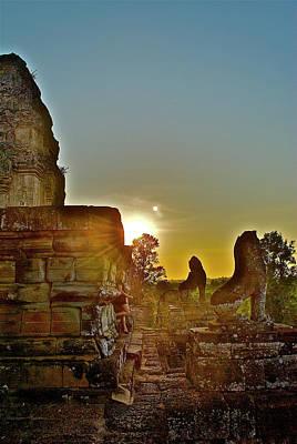 Photograph - Angkor Wat Architecture by David Perea