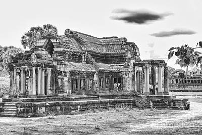 Photograph - Angkor Wat Temple Siem Reap 21 by Rene Triay Photography