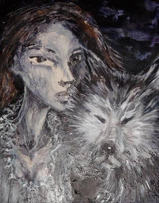 Animal Instinct Art Print by Jenni Walford