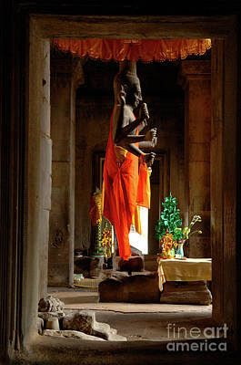 Photograph - Angkor Wat Cambodia by Bob Christopher