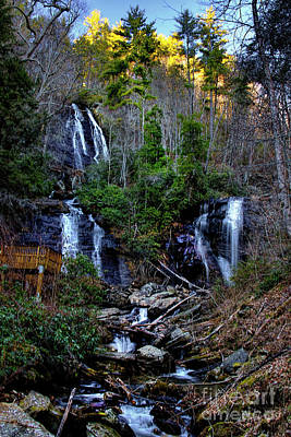 Photograph - Anna Ruby Falls by Barbara Bowen