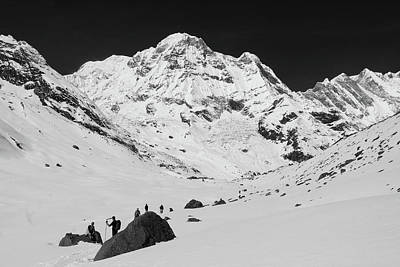 Photograph - Annapurna South, Himalayas, Nepal by Aidan Moran