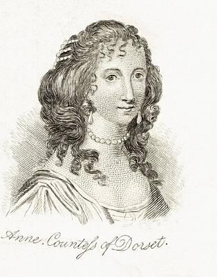 Anne Clifford Countess Of Pembroke Art Print