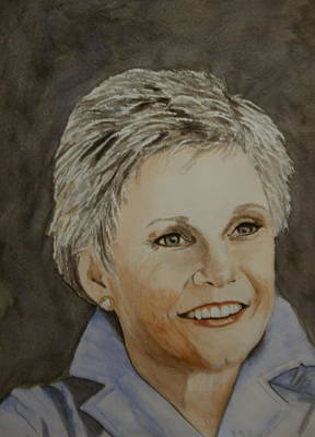 Anne Murray Art Print by Betty-Anne McDonald