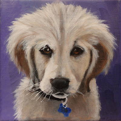 Painting - Annie by Carol Russell