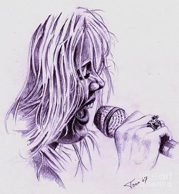 Drawing - Anouk by Toon De Zwart