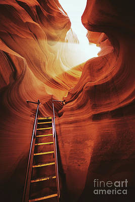 Photograph - Antelope Canyon by JR Photography