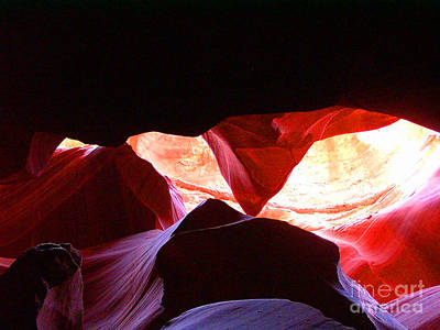 Photograph - Antelope Slot Canyon - Astounding Range Of Colors by Merton Allen