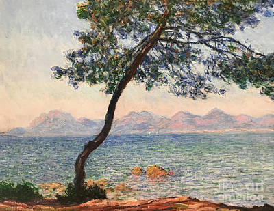 Painting - Antibes by Claude Monet