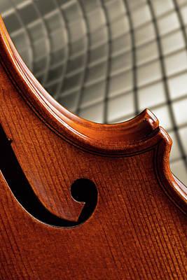 Photograph - Antique Violin 1732.66 by M K Miller