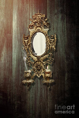 Sconce Photograph - Antique French Girondelle by Amanda Elwell