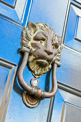 Antique Knocker Art Print by Tom Gowanlock