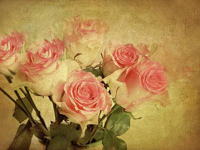 Photograph - Antique Roses by Jessica Jenney